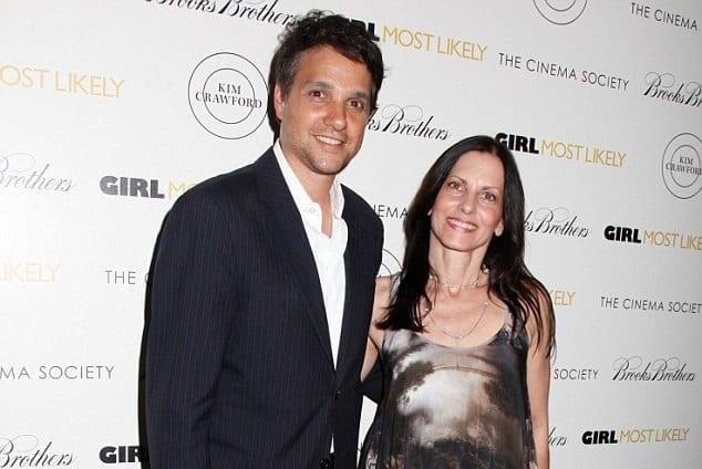 Phyllis Fierro with husband Ralph Macchio