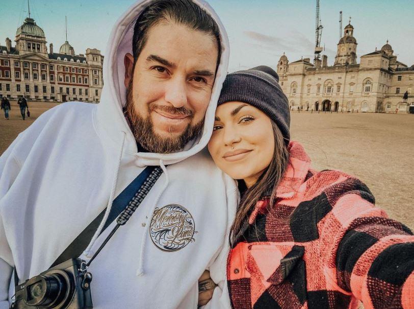 Bailey Sarian with Fernando